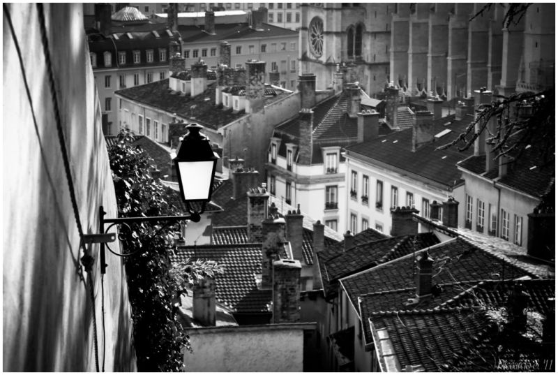 The street lamp and his panorama