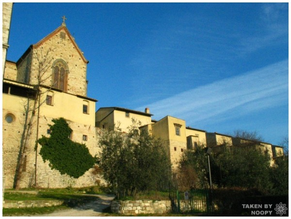 Monastery in Galluccio