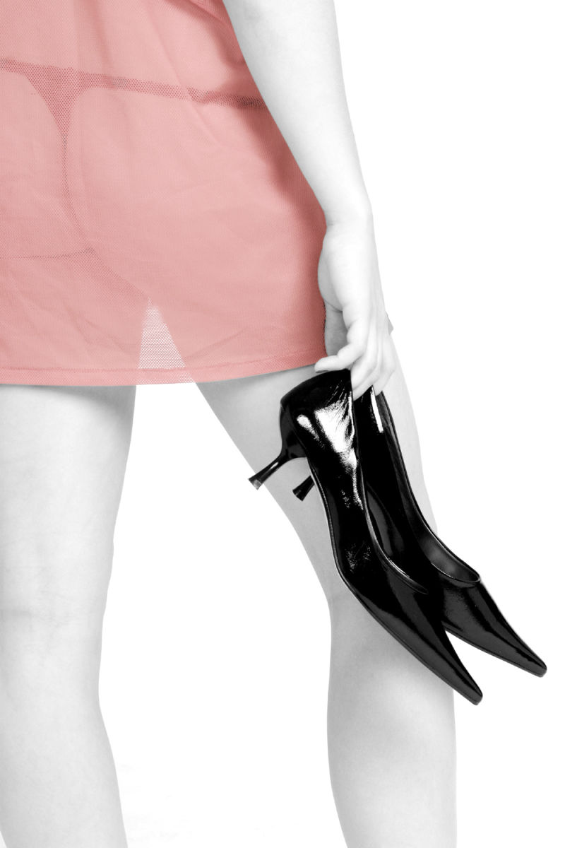 shoes, back, girl, hot,