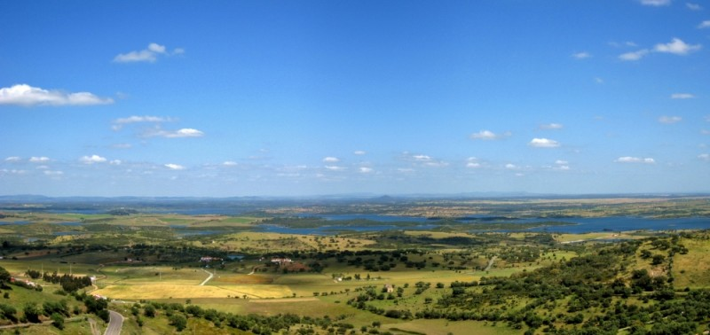 guadiana visto de monsaraz