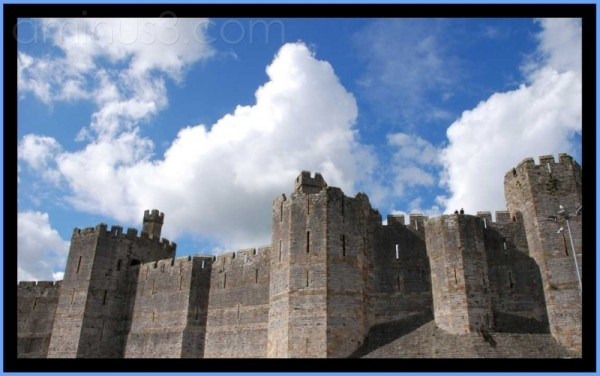 caernafon north Wales castle