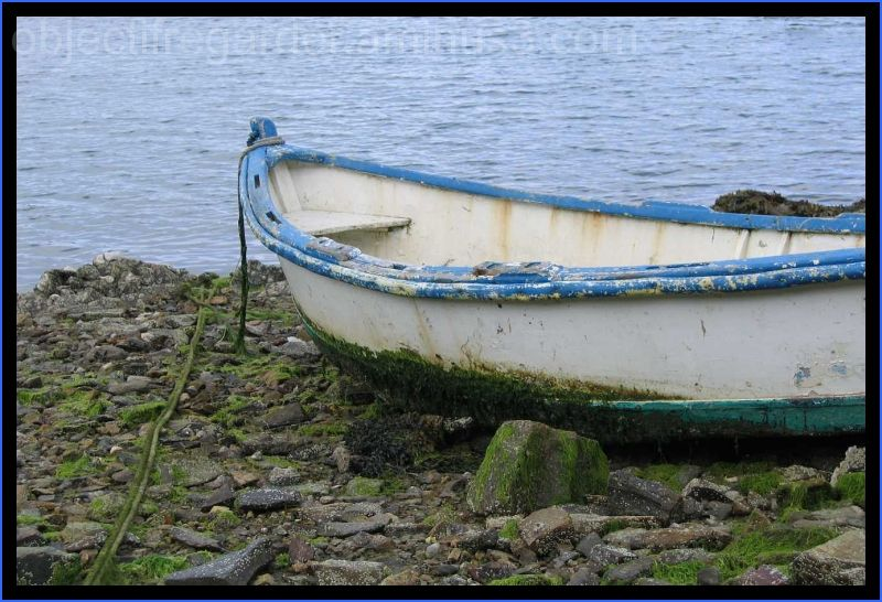 a boat in Brittany
