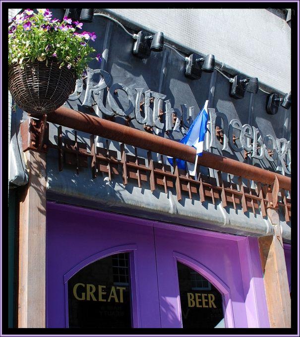 purple, Scotland