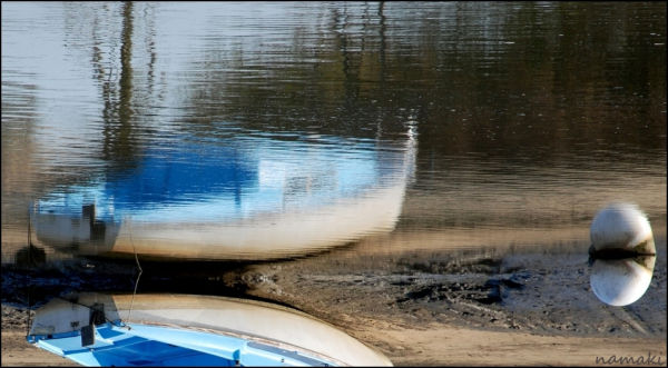 a boat in Gujan-Mestras