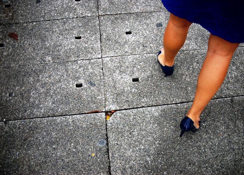 footstep, shoes, heels