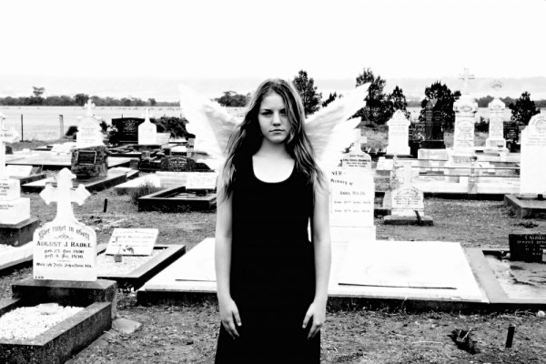 angel in cemetery