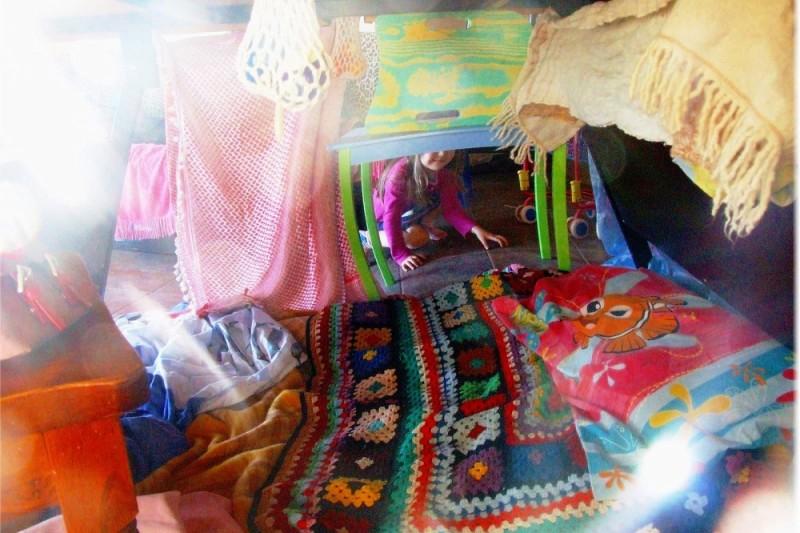 cubby hut indoors