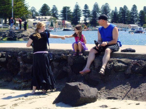 At the wharf (Port Fairy 4)