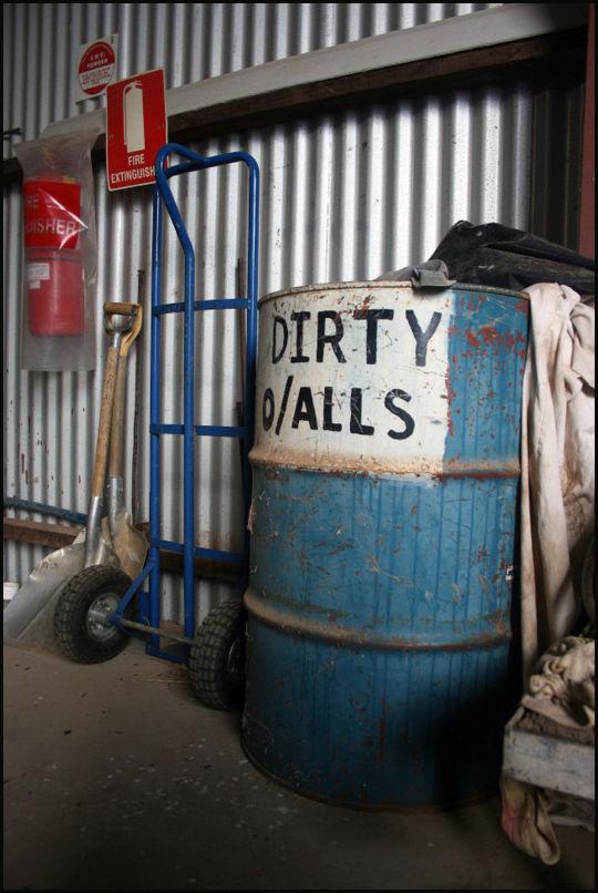 dirty o/alls