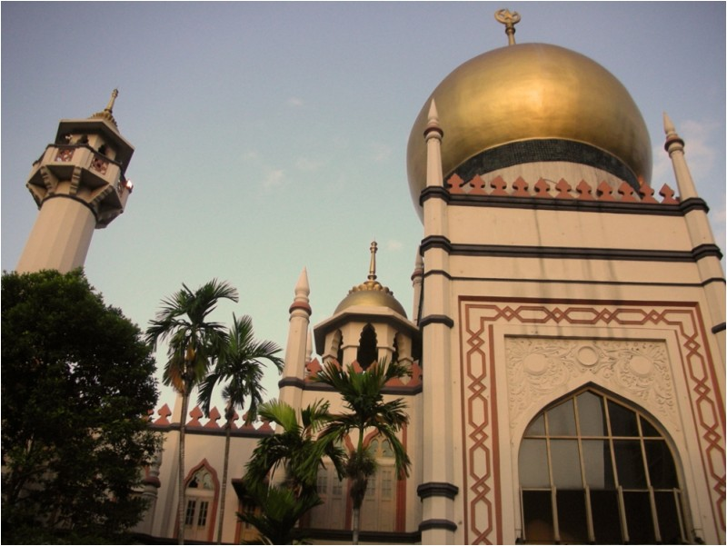 Mosque near Haji