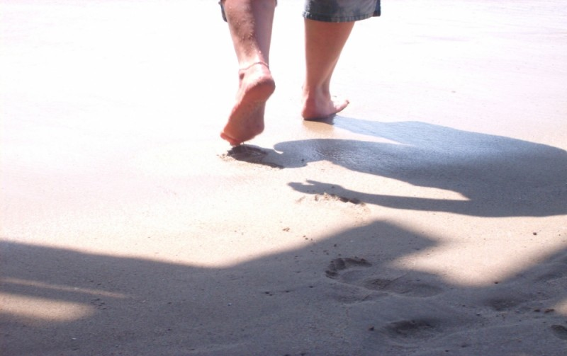 A long missed walk on the beach