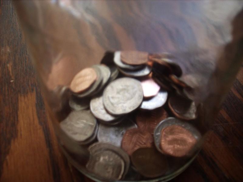 A look into Liz's tip jar