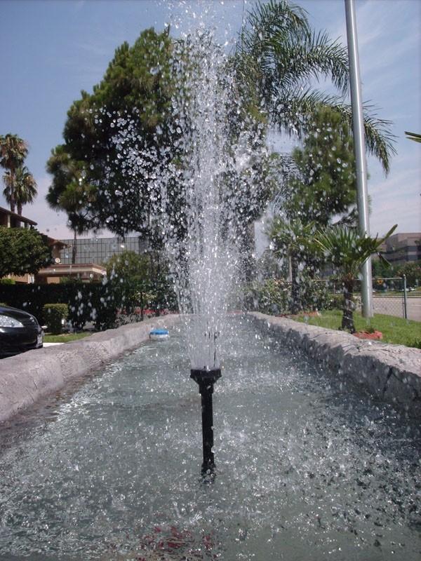 Hotel water fountain