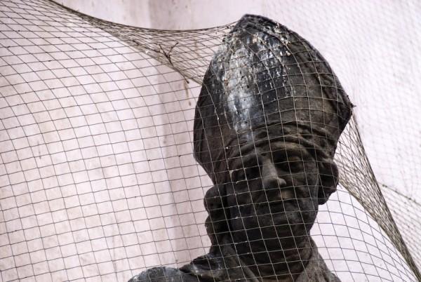 statue in prague