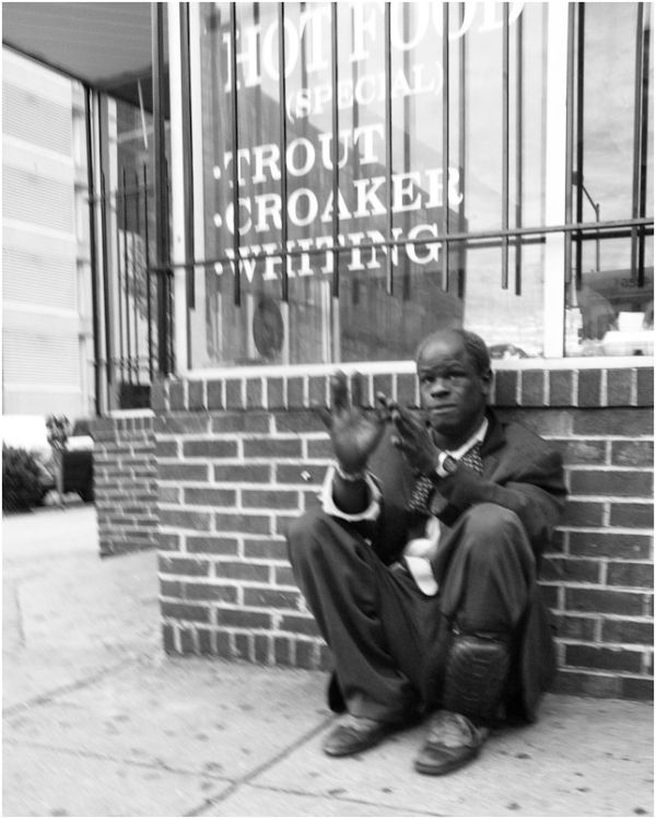 man on street 14th street