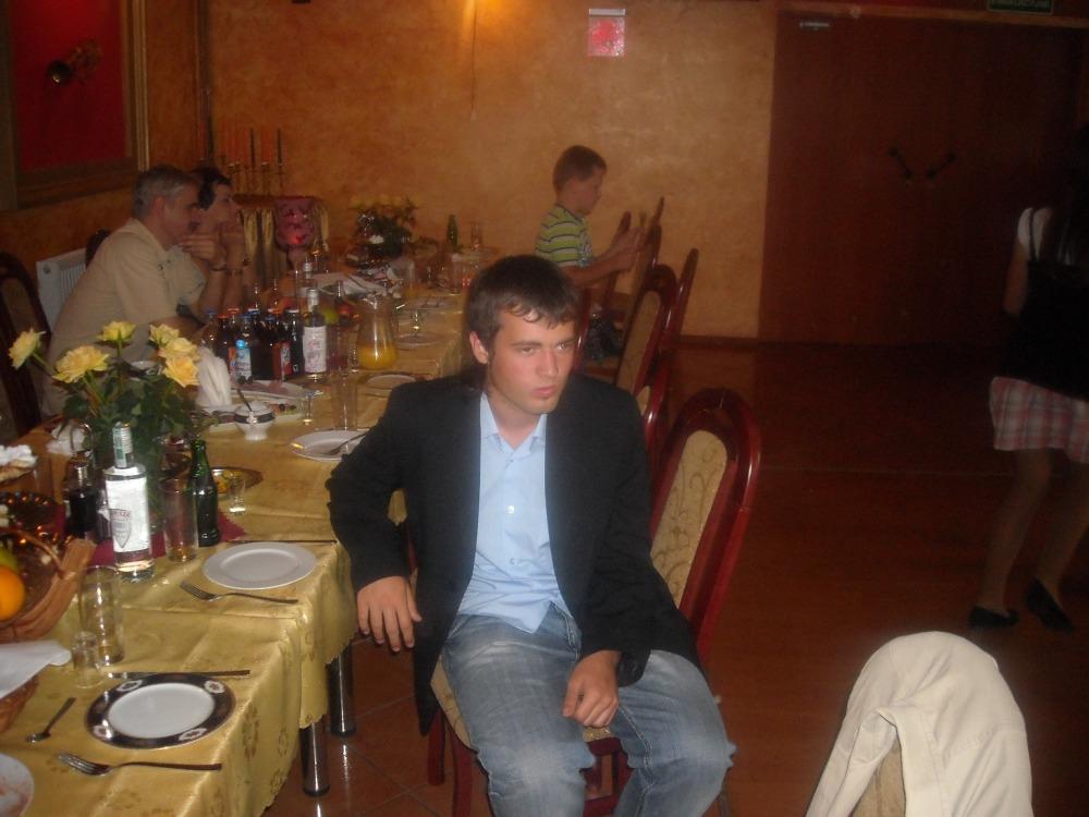 Alvaro na weselu