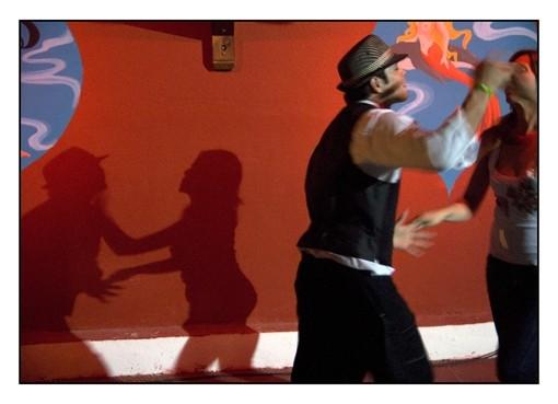The salsa dance