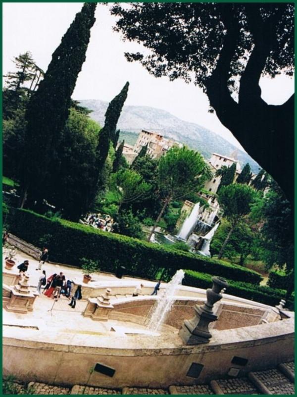 Tivoli garden near Rome