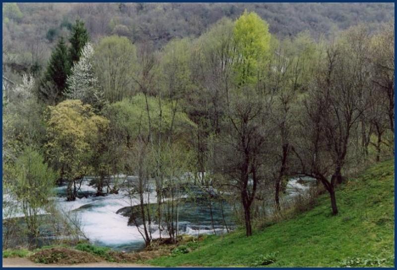 Source of river Una in Bosnia Hercegovina