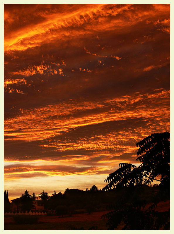 The same sunset