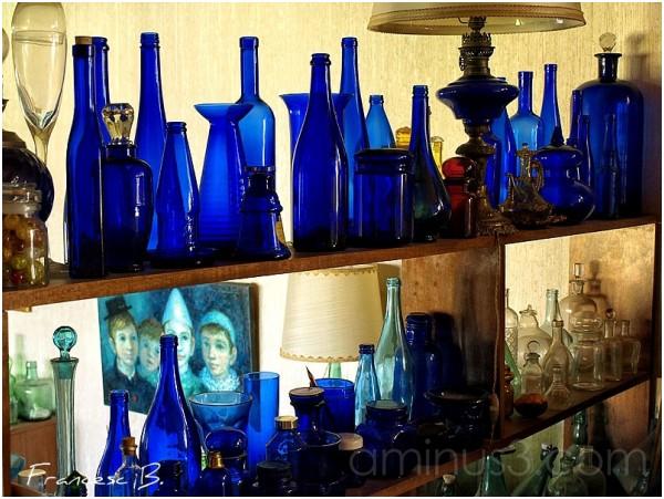 Collection bleue