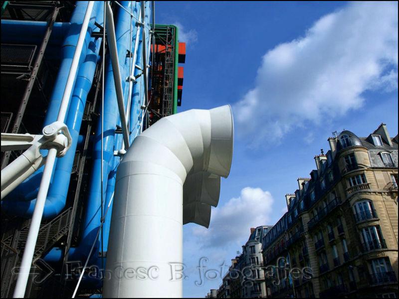Ça fume à Beaubourg ! (Aminus3 - Paris)