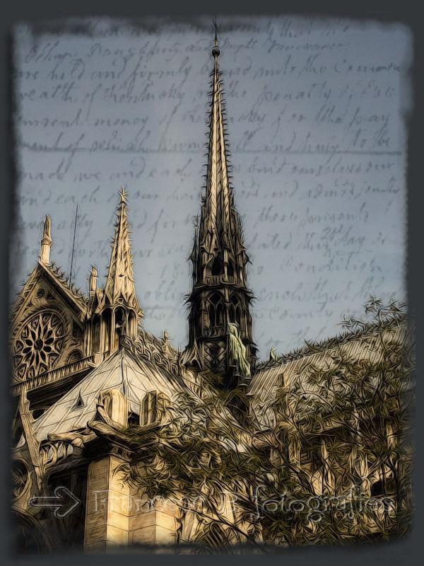 Notre-Dame fantasy (Aminus3 - Paris)