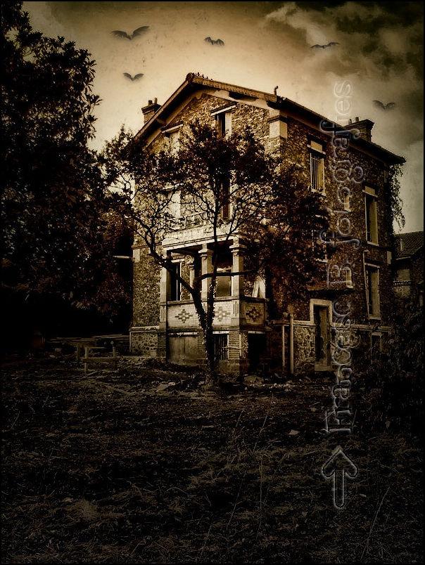 La maison hantée...