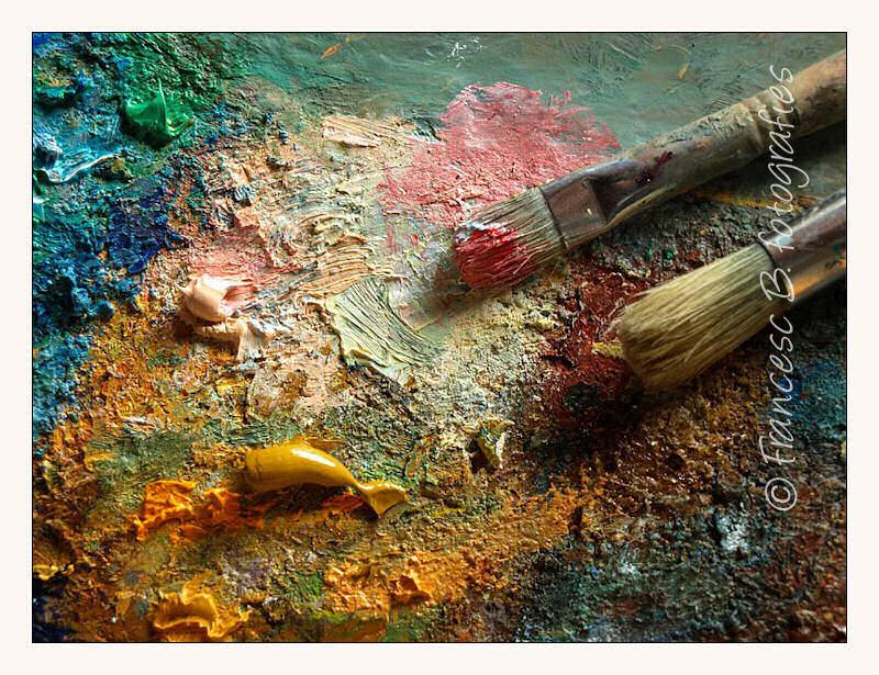 La palette de l'artiste - 2