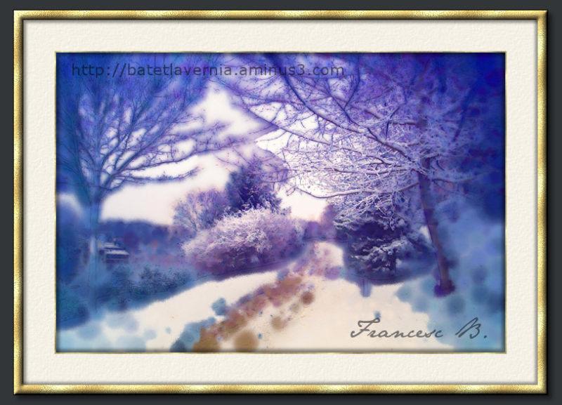 Aquarelle d'hiver