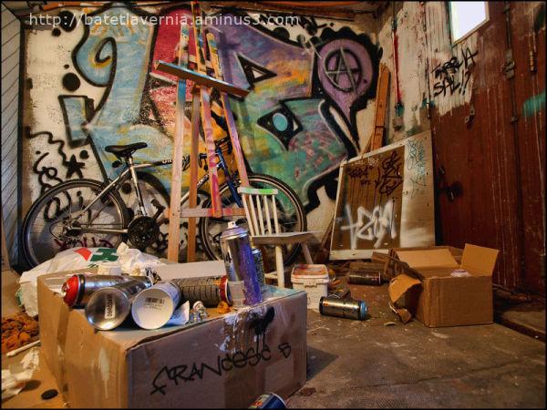 Atelier de graffeuse