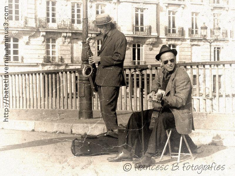 Les musicos (Aminus3 - Paris)
