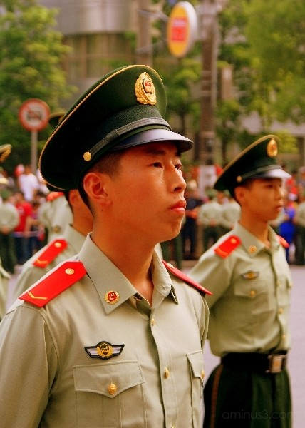 chinese soldier