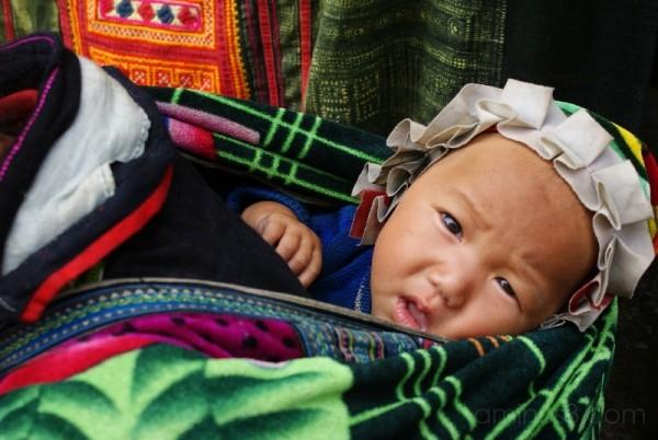 vietnam kid , not happy