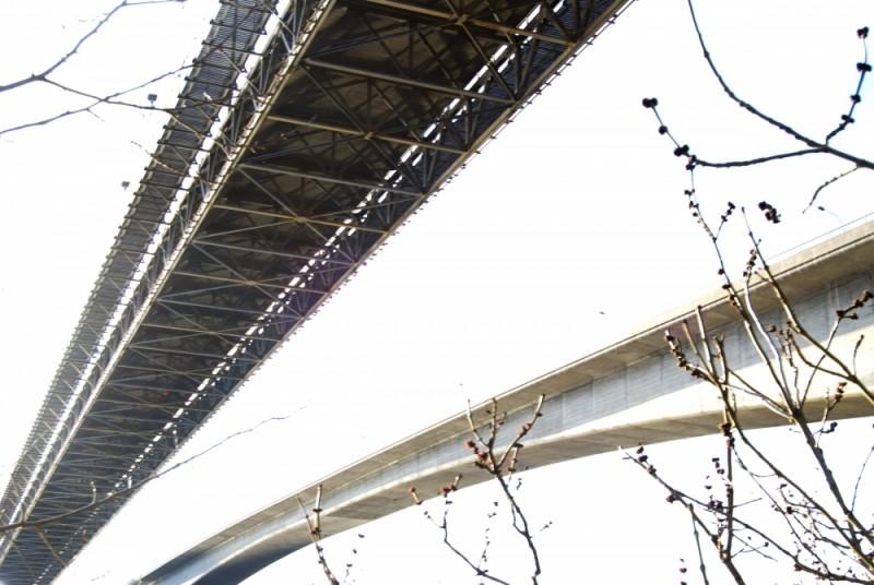 bridge in Kristiansand Norway