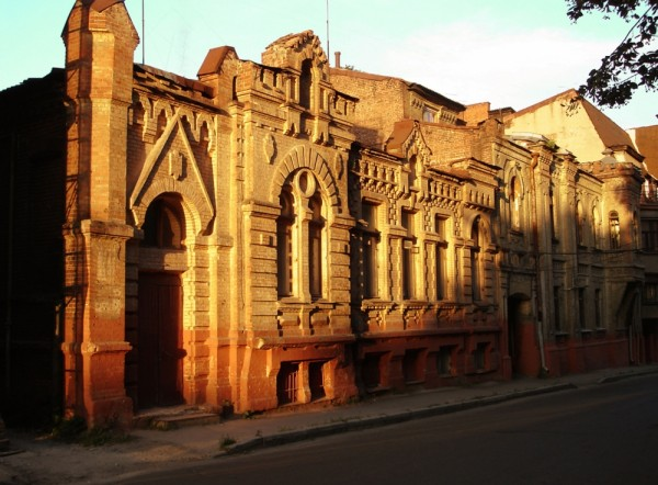 An old beautiful building of Kharkov