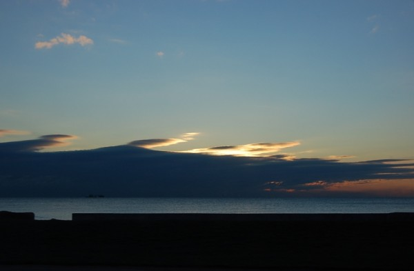 Sunrise coming