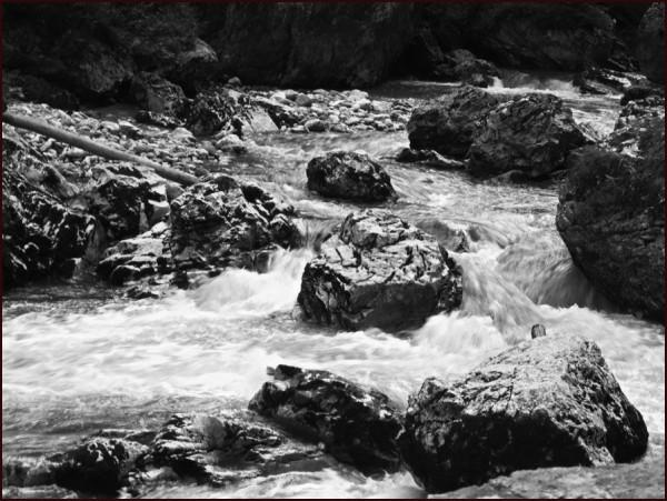 water Cheile Bicazului Bicaz gorges Romania