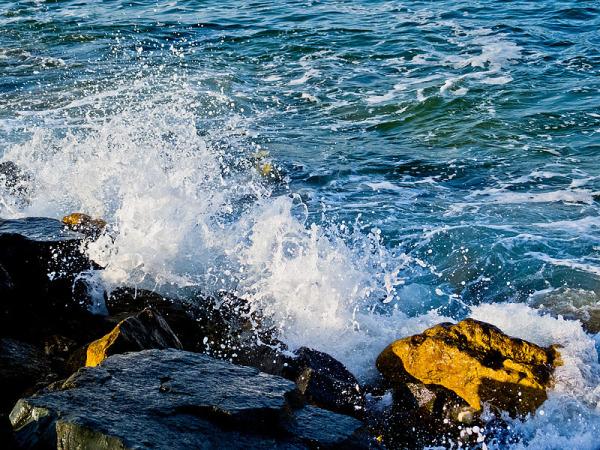 Les vagues sont sont nombreux, les rivages pas...