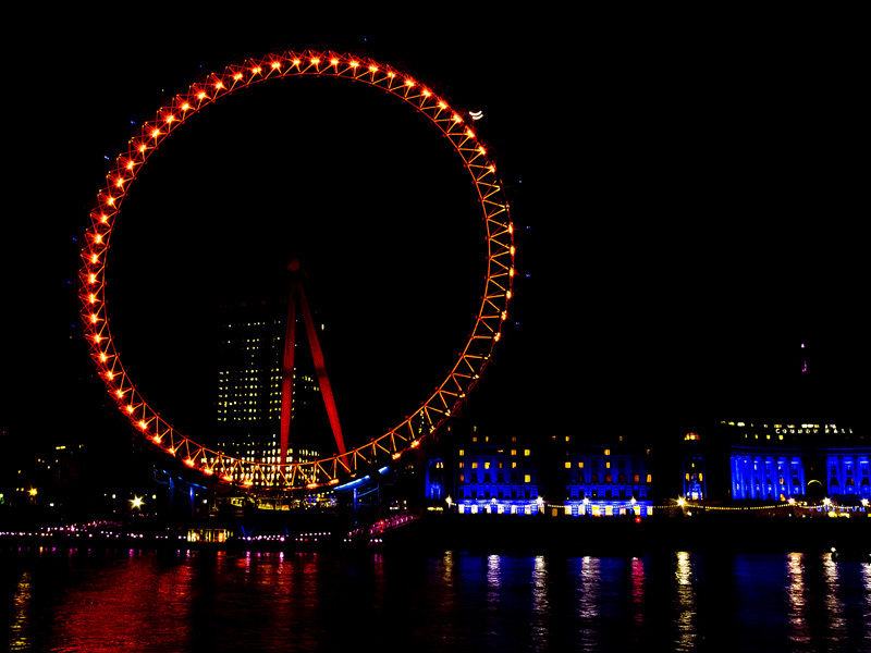 GOOD BYE, LONDON EYE!