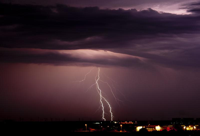 a far storm