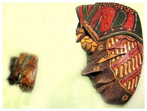mask, batik, topeng