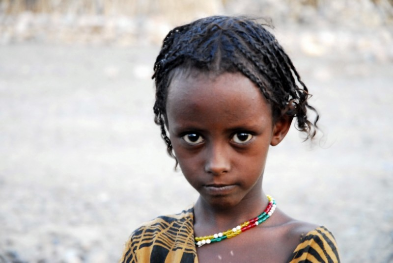 Afari girl, Ahmed-della, Afar region, Ethiopia