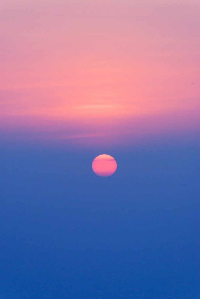 Sunrise over Afar region, Ethiopia