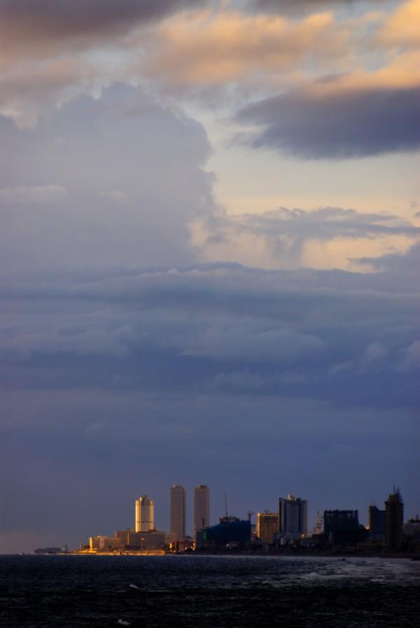 View on Fort area, Colombo, Sri Lanka