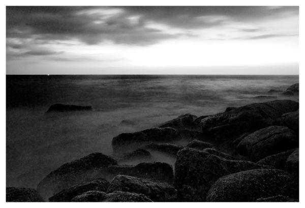 Seascape of Indian Ocean, Unawatuna, Sri Lanka
