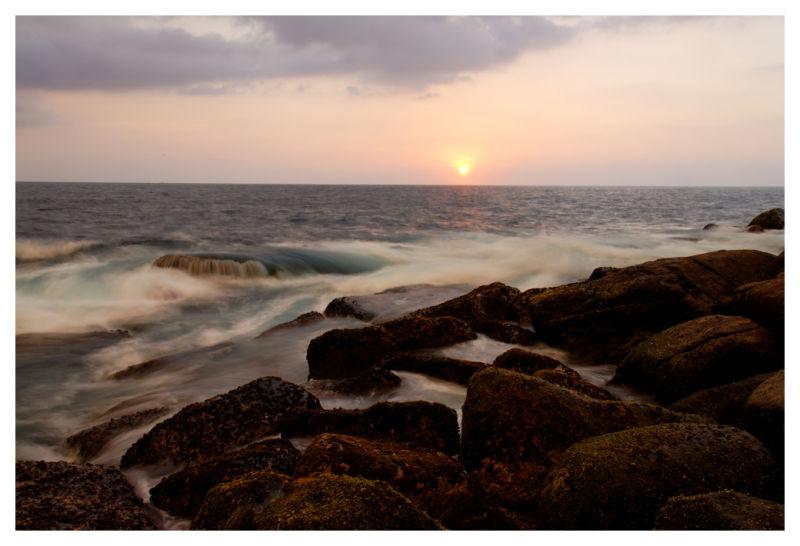 Sunset in Unawatuna, Sri Lanka