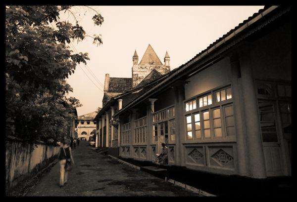 Galle's streets, Sri Lanka
