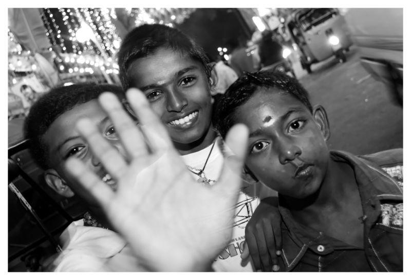 Tamil children in Colombo, Sri Lanka