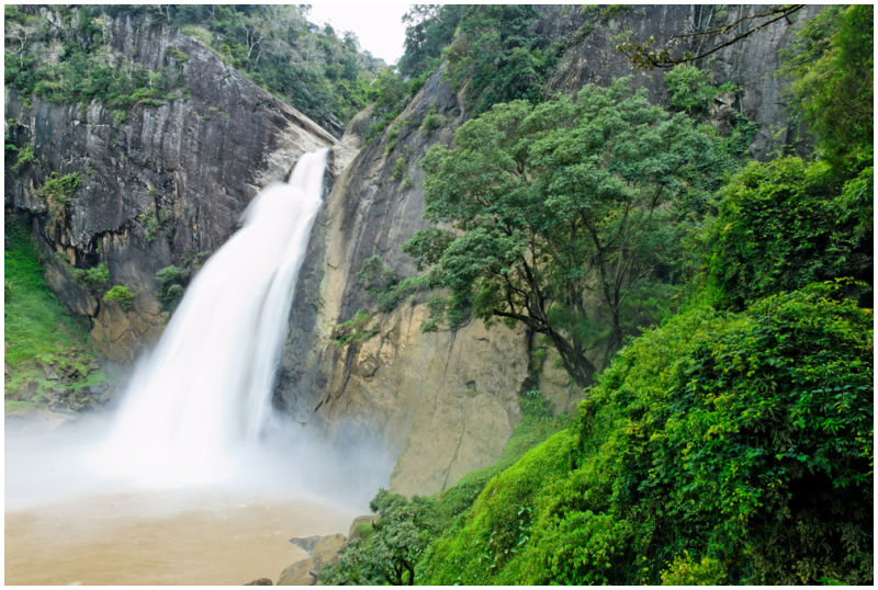 Dunhinda water falls, Badula, Sri Lanka